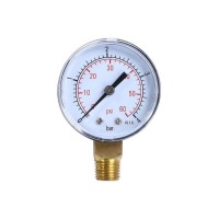 Pressure gauge for EB filters