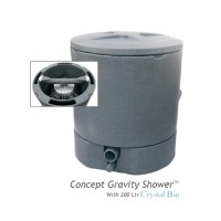 Concept Gravity Shower inc 200L C.Bio