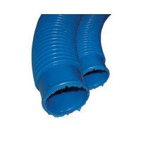 "1.5"" Floating Blue Vac Hose (per mtr)"
