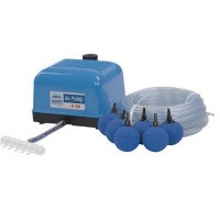 Air pump Flow V-10 SET (with line / stones)