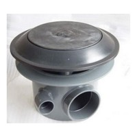 Spindrifter 4 Pressure Bottom Drain for Concrete""