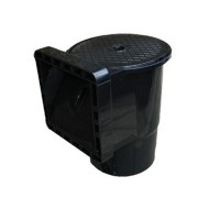Standard Black In-wall skimmer SB264 (Liner / Concrete)