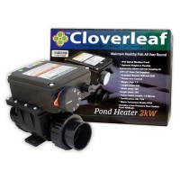 Cloverleaf 1kW Heater Stainless body